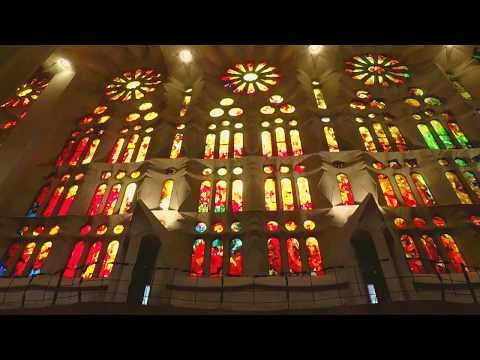 A walk around Sagrada Familia + Passion Tower  - Barcelona, Spain | GoPro HD