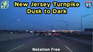The New Jersey Turnpike : Dusk to Dark