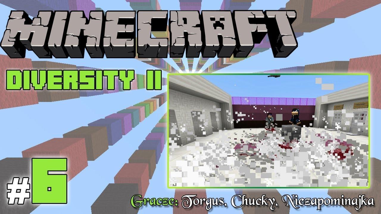 """Minecraft Escape: Diversity II z Torgus/Chucky! [6/x] – """"Rybiki z nieba!"""""""