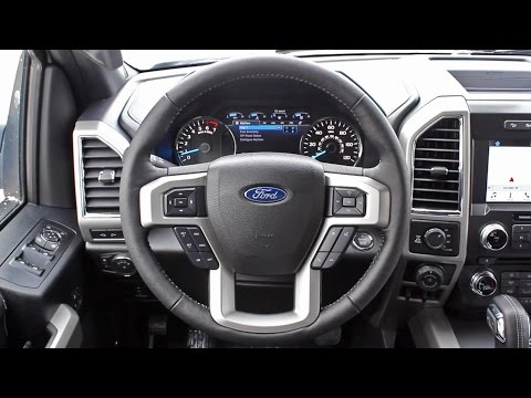 How To Turn Heated Steering Wheel On Off On A 2017 Ford F 150 Lariat Youtube