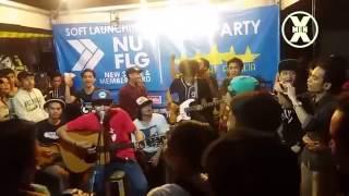 X-MEN - RELAKAN DIA PERGI [Live Acoustic at Nu Flag, Jakarta.]