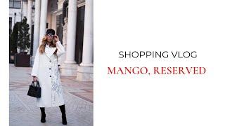 MANGO RESERVED Shopping vlog Анастасия Оделс