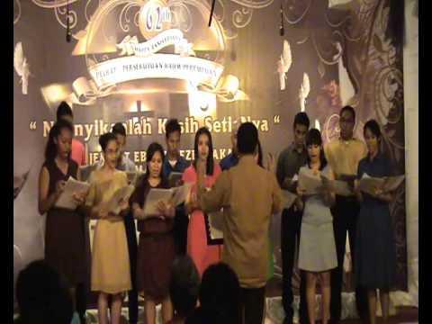 Besar dan Perkasa, Hallelujah Handel - Paduan Suara GP Eben Haezer DKI Jakarta