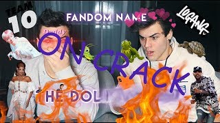 What Is Our New Fandom Name!?! on Crack|Dolan Twins on Crack