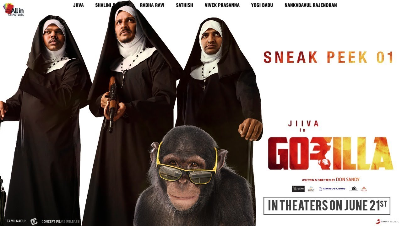 Gorilla movie review: Jiiva's film is a silly heist comedy
