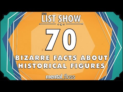 70 Bizarre Facts about Historical Figures - mental_floss List Show Ep. 439