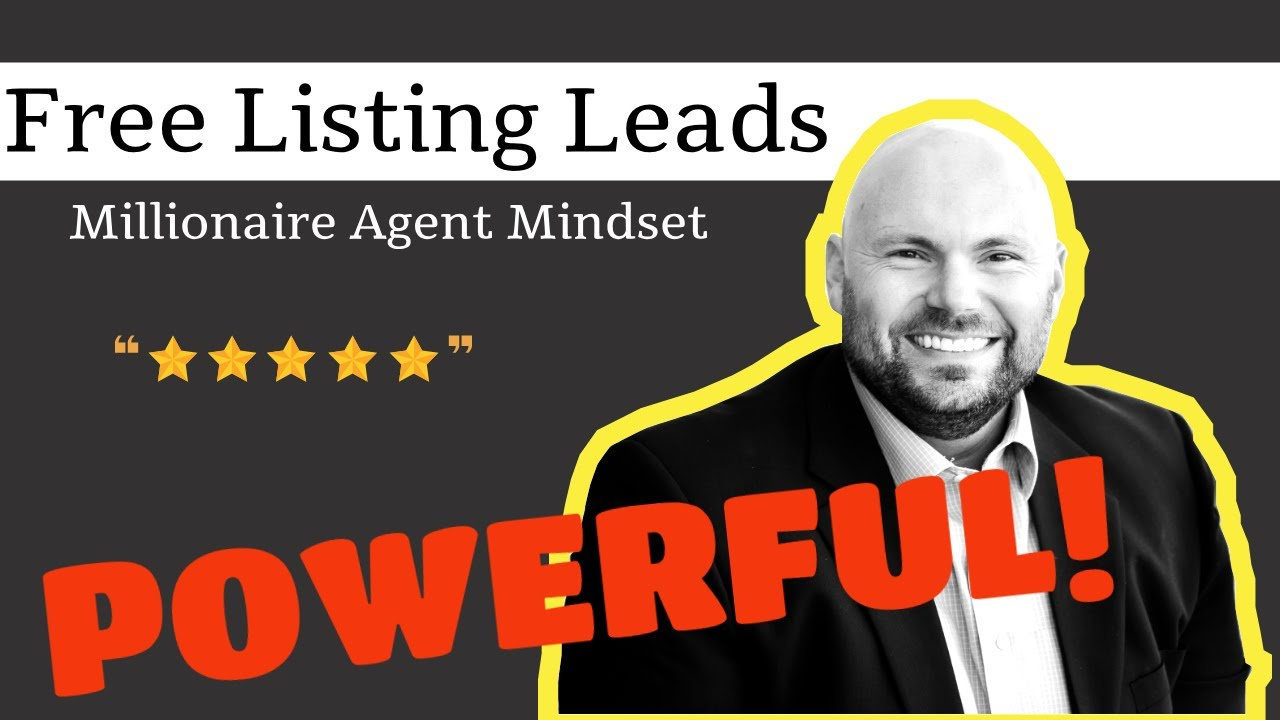 How A Millionaire Real Estate Agent Gets Free Leads and