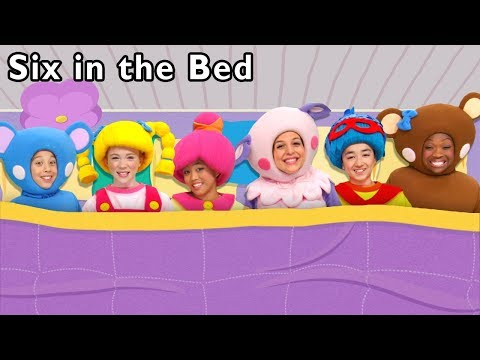 Six in the Bed and More | Bedtime Sleep Song | Baby Songs from Mother Goose Club!