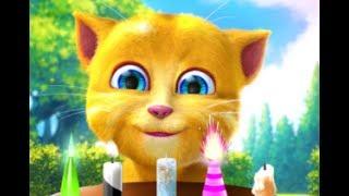 Talking Ginger 2 - iPad app demo for kids - Ellie screenshot 4