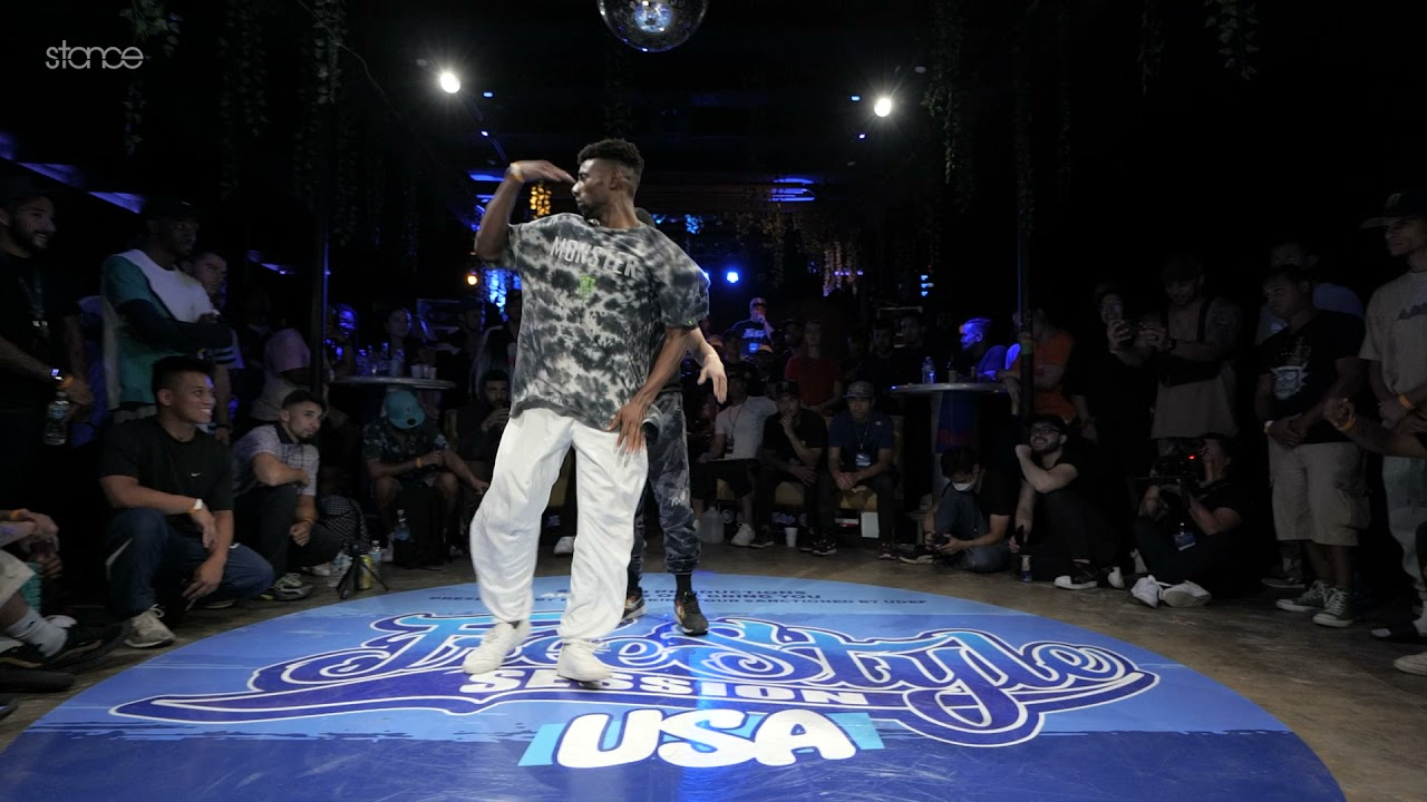 Download Uncle Will vs Jeffro [top 16 bboy] // FREESTYLE SESSION USA 1v1 - 2021 // stance
