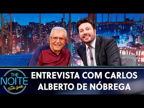 Entrevista com Carlos Alberto de Nóbrega  The Noite 160519