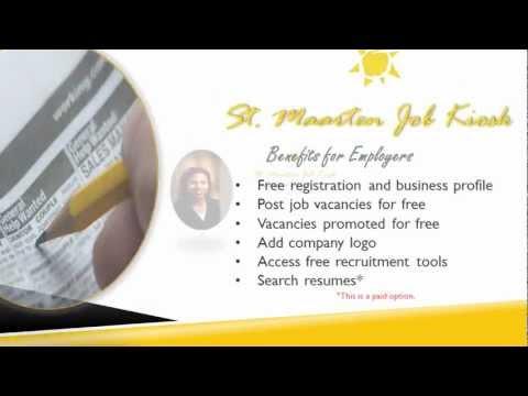 St. Maarten Job Kiosk Promotion