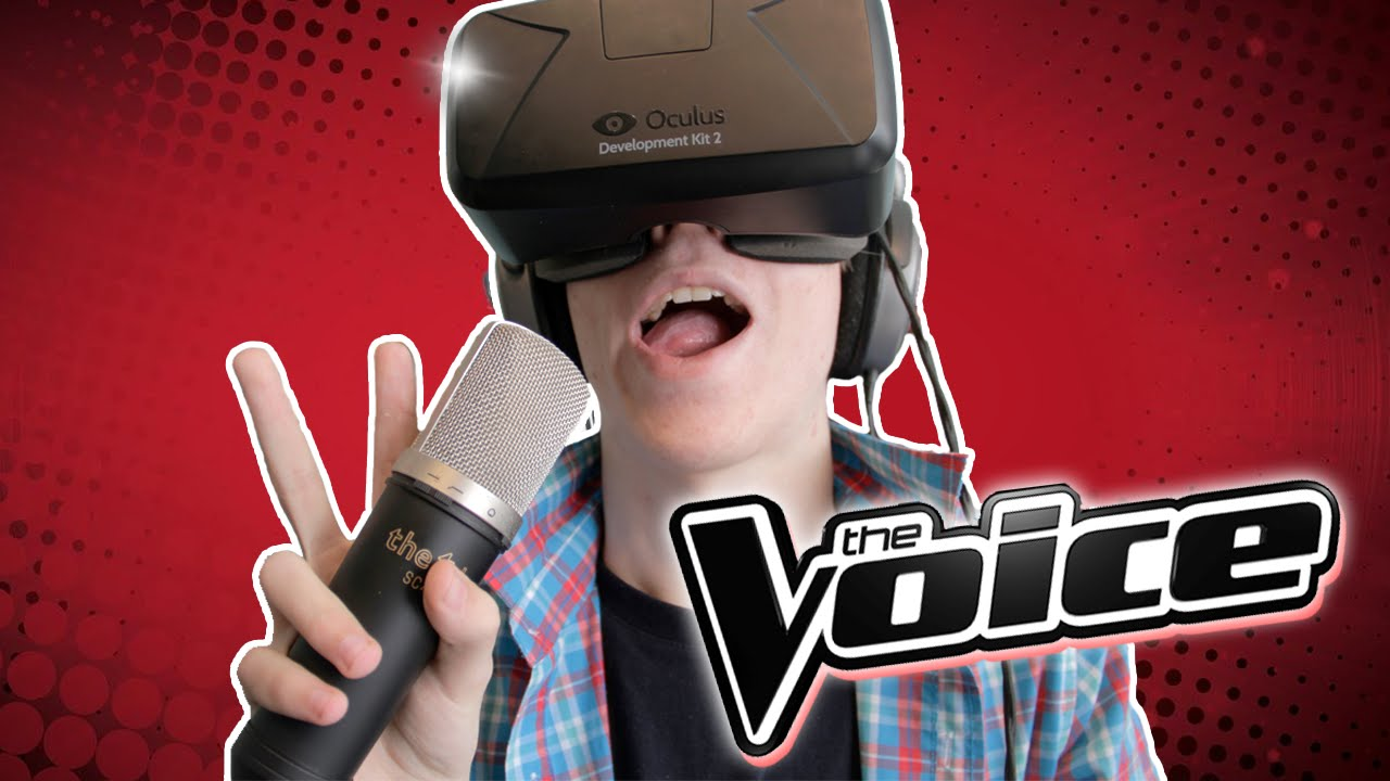 The Voice 3D Experience: Oculus Rift DK2 - BE THE COACH!