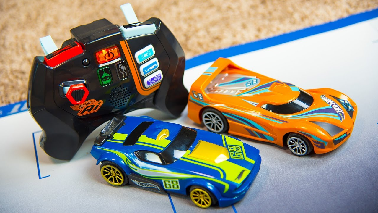 hot wheels ai rc toy cars for kids racing car track toys for boys kinder playtime youtube - Kinder Kid Competition