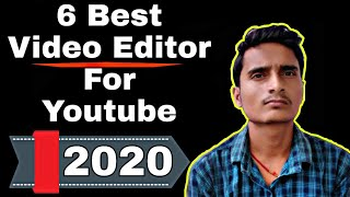 Free Six 6 Best Video Editing Software for YouTube videos in 2019 & 2020 Hindi | Best video editor