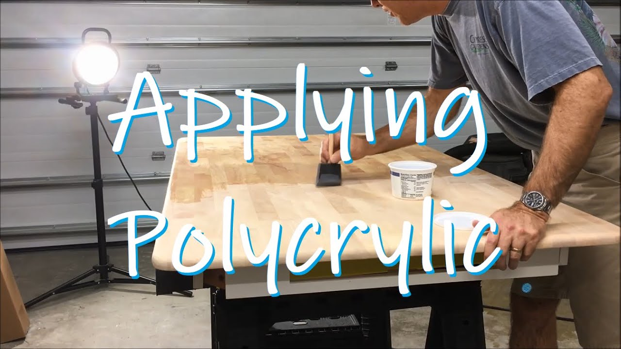 Applying Polycrylic