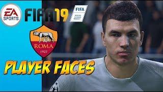 FIFA 19 - Roma Player Faces