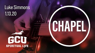 GCU Live: Chapel Jan 13, 2020
