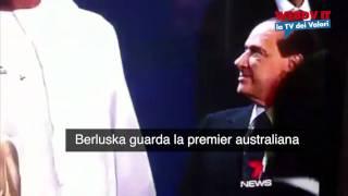 """Silvio """"Horny"""" Berlusconi ci ricasca, questa volta con la premier australiana"""