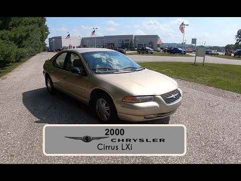 2000 Chrysler Cirrus LXi|Walk Around Video|In Depth Review|Test Drive