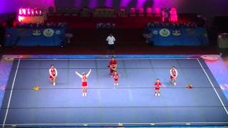 "7th World Cheerleading Championships 2013, Thailand, Day 2, Open category""TEDDY BEARS 2"""