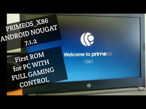 Prime OS Android X86 Nougat For PC/Laptop : First Gaming Rom For PC
