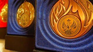 Медали, кубки, значки лауреатов