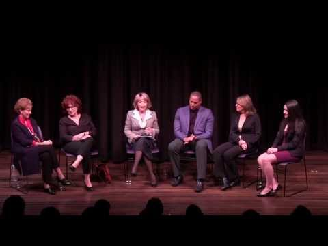 What Will It Take To Make A Woman President - Panel discussion NYC