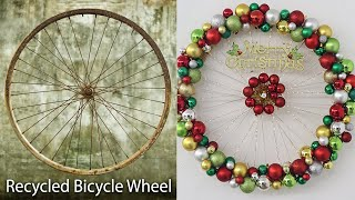 Christmas decorations recycled materials | Recycled christmas decor