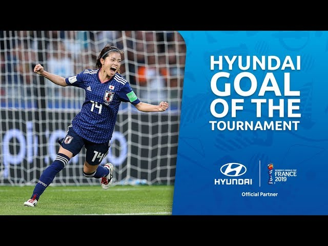 Yui HASEGAWA – HYUNDAI GOAL OF THE TOURNAMENT – NOMINEE