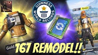 REMODEL WORLD RECORD ROS? 167 Remodel Reskillest