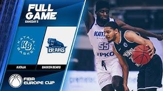 Kataja  v Bakken Bears - Full Game - FIBA Europe Cup 2019-20