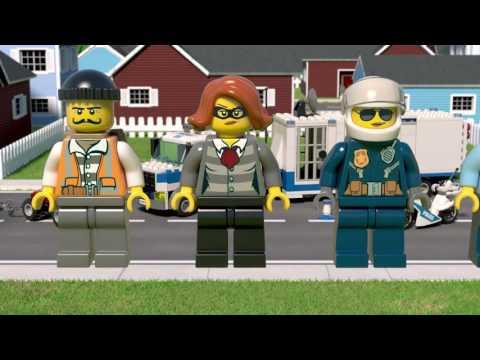 LEGO® City - 60139 Centru de comandă mobil
