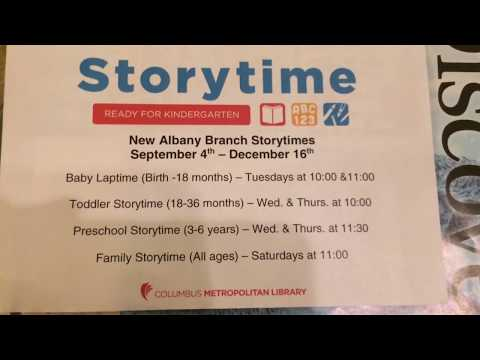 Columbus Metropolitan Library - Storytime - Schedule