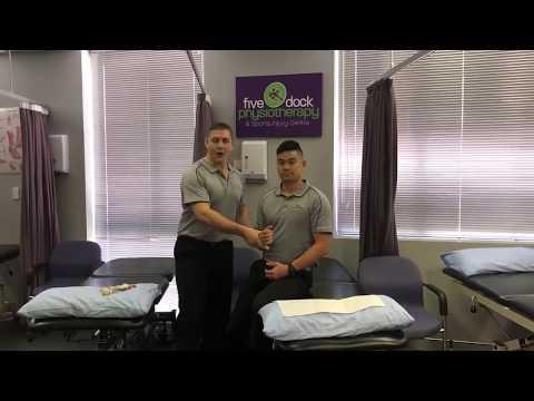 Regaining functional shoulder movement