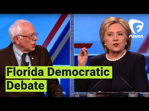 Florida Democratic Debate presented by Univision & The Washington Post