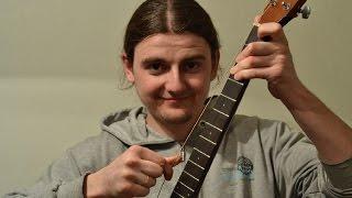 Slipknot на 1 струне электроакустической гитары Fender Cd-60.  Посмотри!