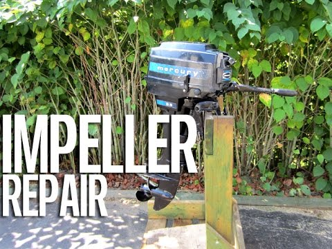 HOW-TO Impeller (water pump) Replacement In Mercury Outboard Motor