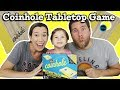 Coinhole Game - Table Top Coin Bouncing Cornhole