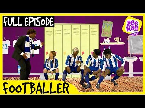 Let's Play: Footballer! | FULL EPISODE | ZeeKay Junior