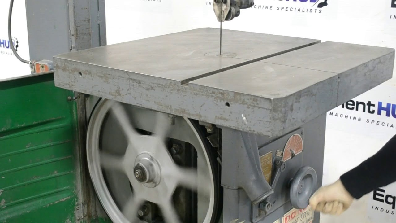Delta Rockwell 28-365 20″ Variable Speed Metal Cutting Vertical Bandsaw