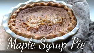 Maple Syrup Pie | Kitchen Vignettes | PBS Food