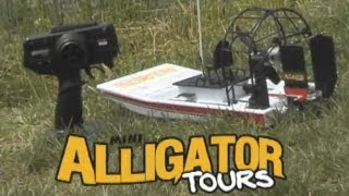 Aquacraft Models™ Mini Alligator Tours Rtr Ep Airboat