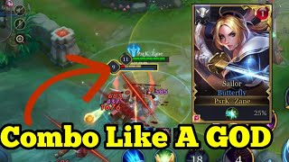 20 BUTTERFLY KILLS! Rank 1 Butterfly Arena Of Valor ROV Lien Quan