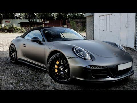 Monsterwraps New 3m 1080 Satin Dark Grey Car Wrap