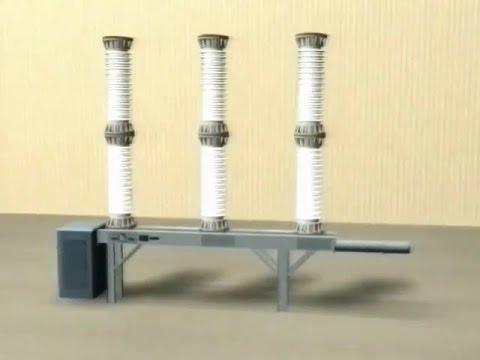 Выключатель элегазовый ВГТ-110 (Gas-insulated circuit breaker VGT-110)