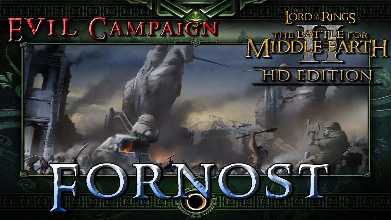 Форност - Прохождение №4 Кампания Тьмы на Высокой сложности Властелин Колец Битва за Средиземье 2