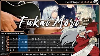 Gambar cover Inuyasha - Do As Infinity - Fukai Mori - Fingerstyle Guitar (TAB Tutorial)
