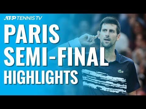 Djokovic Sets Final with Shapovalov | Paris 2019 Semi-Final Highlights