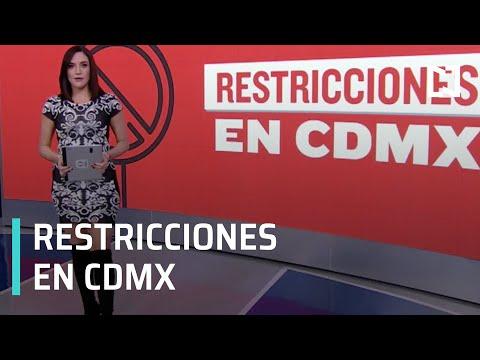 ¿Cuáles son las nuevas restricciones en CDMX por semáforo rojo COVID-19? - Despierta